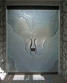 Etched Glass Bathroom Door Metamorphosis I All Glass Doors Frameless Entry Doors