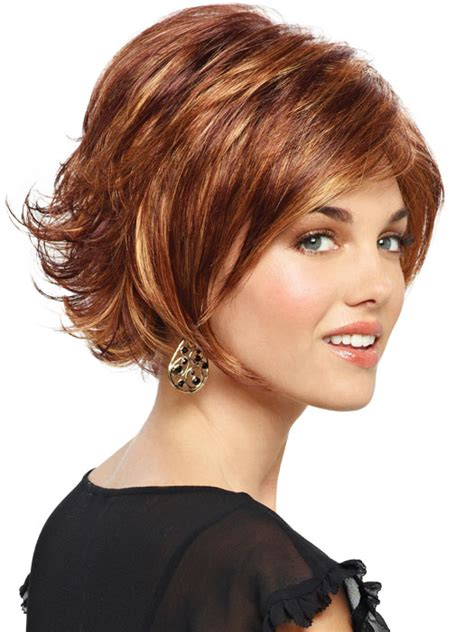 short bobs with flip sarah by revlon wigs com the wig experts