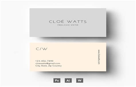 personal business cards templates free 25 personal business card templates in psd word format