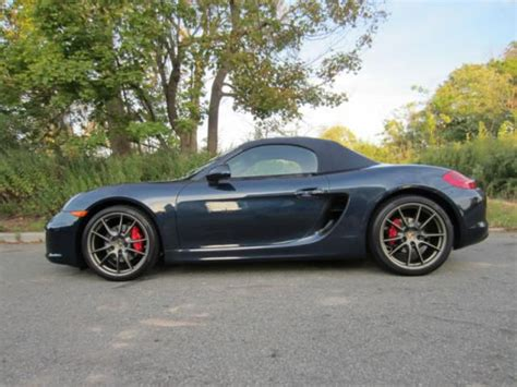 Buy Used Porsche Boxster by Buy Used Porsche Boxster S Convertible 2 Door In