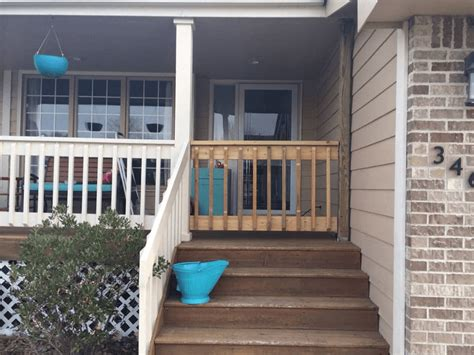 maintain front porch gate