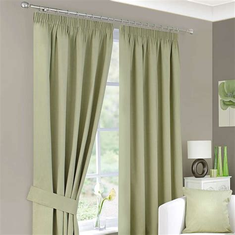 green pleated curtains best 25 green pencil pleat curtains ideas on pinterest