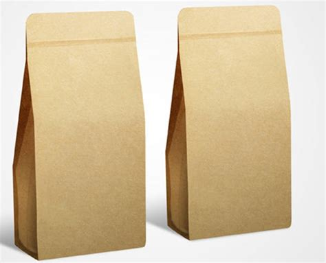 How To Make Eco Friendly Paper Bags - 6 free psd coffee bag mockups freecreatives