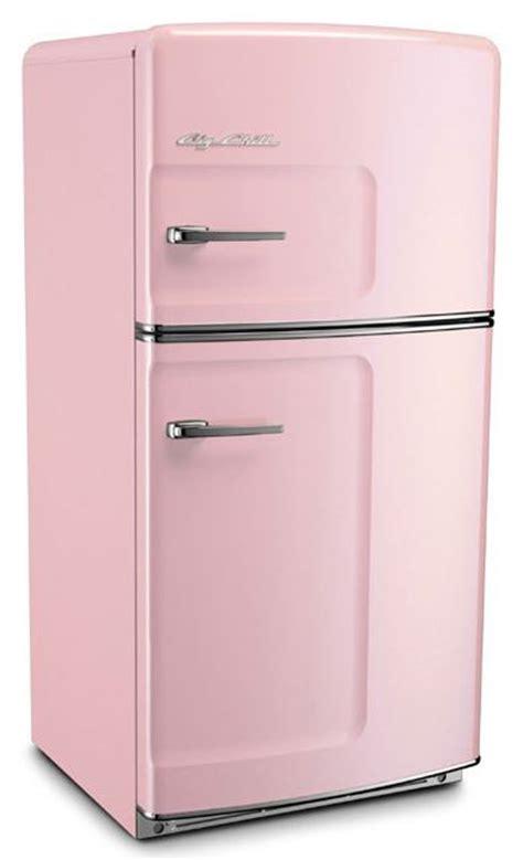 Kitchen Color Idea by Retro Refrigerators 7 Places To Get Them In Pink And
