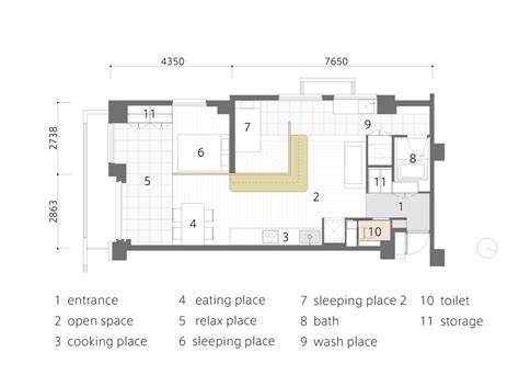 l shaped apartment floor plans small apartment gets an efficient l shaped makeover