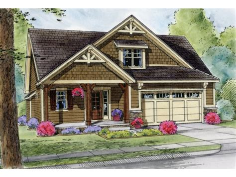 Bungalow Plans With Garage by Craftsman Cottage House Plans With Garages Bungalow