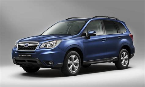 subaru forester 2013 subaru forester official images photos 2 of 3