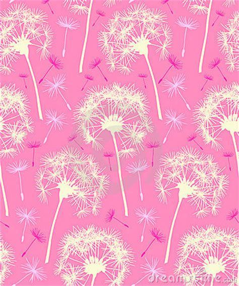 Qw Wallpaper Dandelion Pink dandelion repeater pattern background pink stock image image 9285601
