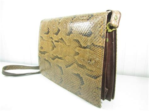 Found A Perfectly Chic Python Leather Clutch by 278 Best Karens Chic N Shabby Etsy Images On