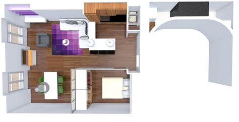chambre salon une chambre au milieu du salon architecture d int 233 rieur
