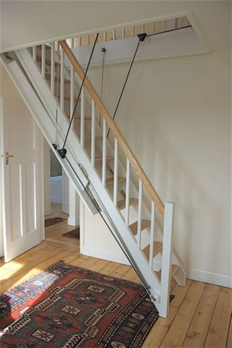 Garage Attic Ladders by The 25 Best Ideas About Loft Stairs On