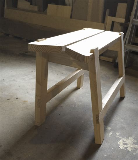 bench fitting stackable sawbenches sawyer s bench brim studio
