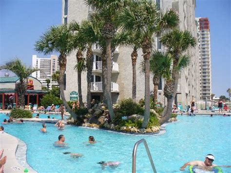 Backyard Burger Pcb Fl Lagoon Pool Side Picture Of Resort
