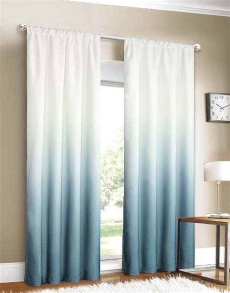 blue ombre curtains com blue ombre curtains 30 for the home