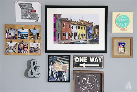 Bedroom Layout Planner travel themed gallery wall live laugh rowe