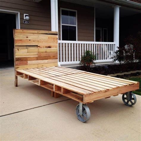 futon made from pallets 42 diy recycled pallet bed frame designs