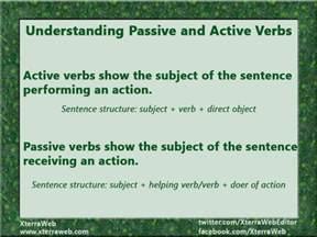 understanding passive and active verbs xterraweb