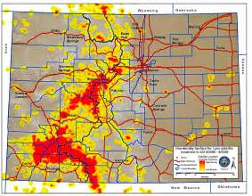 colorado population map colorado elk population map images