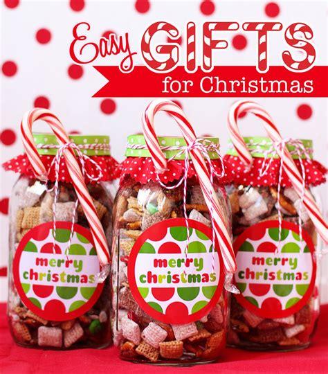 handmade chex mix holiday gifts bonus  printable