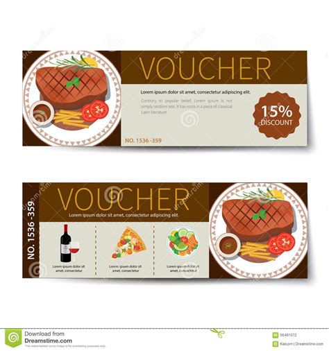 food voucher template coupon printable voucher 2017 foosball