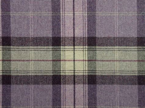 Tartan Plaid Curtains 100 Highland Wool Tartan Plaid Amethyst Aubergine Curtain Upholstery Fabric Wool