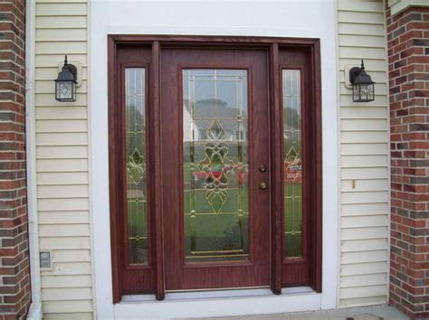 Fiberglass Front Doors Painting Ideas With Two Hanging Painting A Front Door Tips