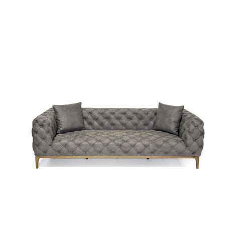 sofa fashion fashion 3 seater gray the smart sofa touch of modern