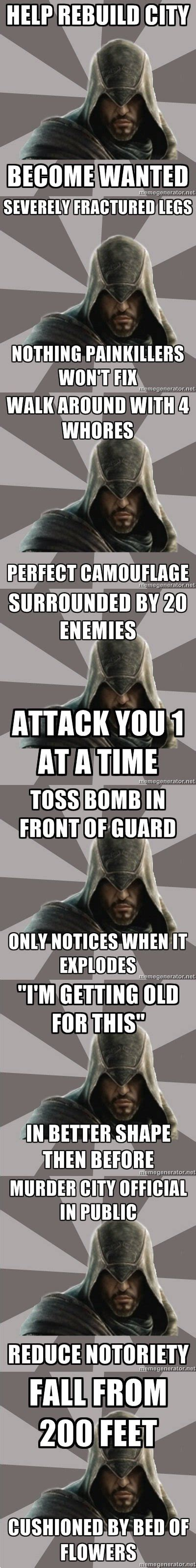 Assasins Creed Memes - assassin s creed memes henchman 4 hire