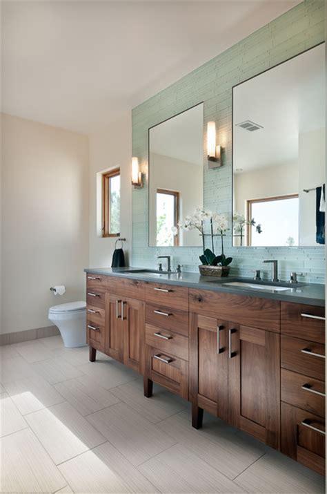 badezimmer vanity walnut bathroom vanity transitional bathroom denver