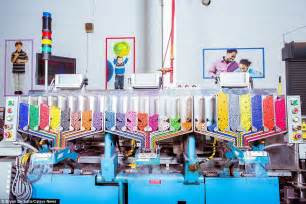 how are colors made inside the crayola factory where 12m crayons are made