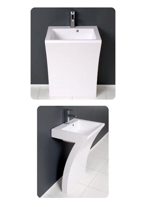 pedestal bathroom vanity fresca quadro pedestal sink modern bathroom vanity best offers