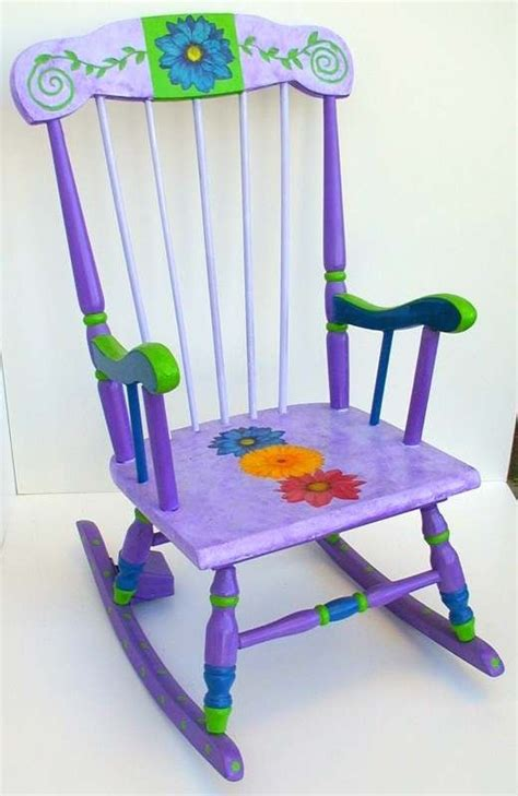 Purple Rocking Chair by Purple Rocker Cheery Chairs Stools Rockers Rocks And Purple