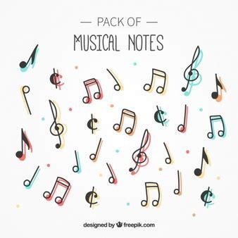 imagenes de notas musicales en forma de corazon notas musicales fotos y vectores gratis