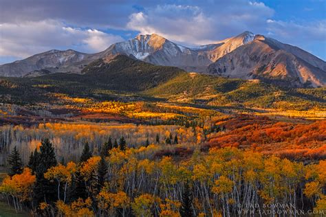 colorado mountain photos by tad bowman