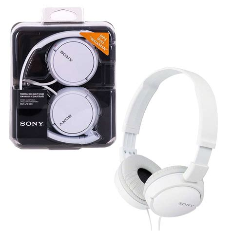 Headset Sony Mdr Zx110 sony mdr zx110 folding the headphones 7dayshop