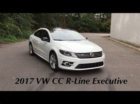 2017 Volkswagen Cc R Line 4motion Executive by 2017 Volkswagen Cc R Line Executive Edition With Carbon
