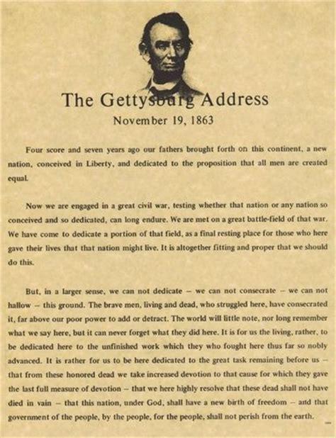 gettysburg address gettysburg address gettysburg address president