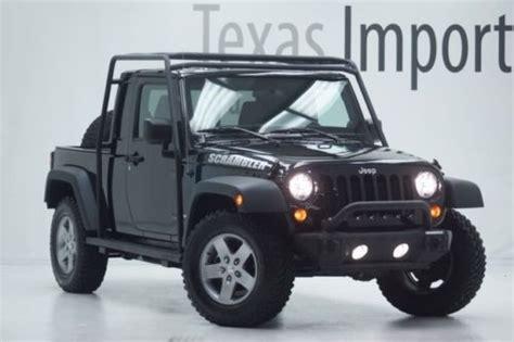 2012 jeep scrambler for sale sell used 2012 wrangler jk8 scrambler conversion 1104