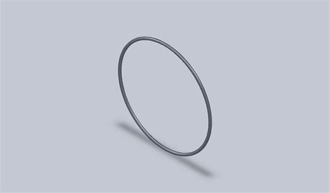 Drawing O Ring Solidworks by O Ring 3d Cad Model Library Grabcad