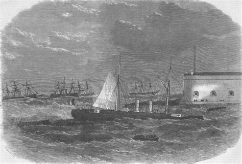 The Duilio Italian Ironclad Recently Launched At Italy Italian Ironclad Affondatore Sinking Antique Print 1866