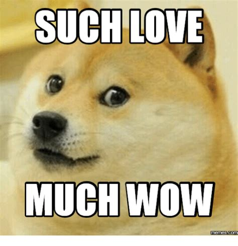 Meme Wow - such love much wow memes com much wow meme on me me