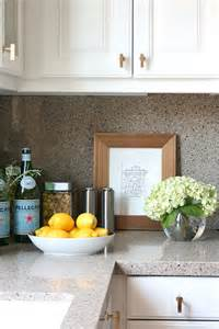 Kitchen Countertop Decor Ideas White Kitchen Cabinets With Brass Knobs Transitional