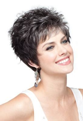 picture of precision grey hair haircut susan narveson short precision cut layers looks like