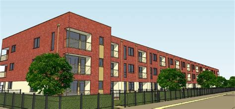 Cheap Apartments Uk Former Tetrad Factory Site To Be Home To New Affordable