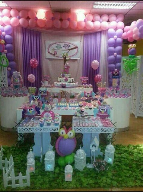 decoraci 243 n buho para mesa de torta cumple mesas