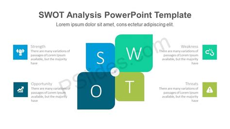 Modern Swot Powerpoint Template Swot Analysis Template For Powerpoint