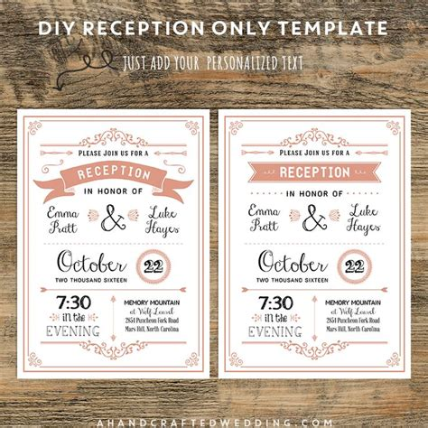 invitation wedding reception only 32 best wedding invites images on invites