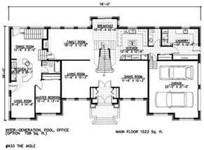 floor plans with inlaw apartment house plans with in suites and a