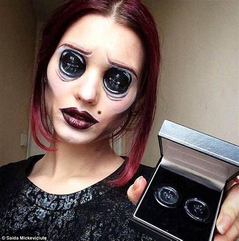 Makeup Artist Makeup Artist Transforms Into Creepy Creations
