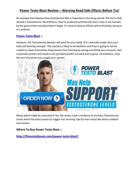 power of testo ppt http fitnesstalkzone power testo blast